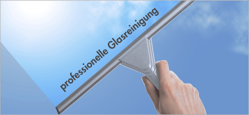 Glasreinigung durch Kooperationspartner